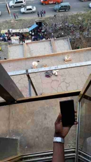 Horror! 62-year-old Man Jumps to His Death Over Failure to Receive His Pension (Graphic Photo)